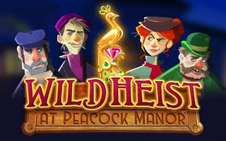 онлайн-слот Wild Heist: At Peacock Manor картинка