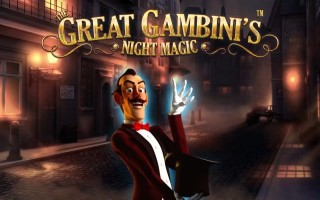 Игровой автомат The Great Gambinis Night Magic
